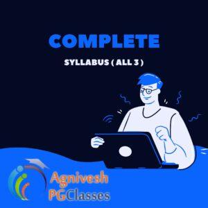 Complete Syllabus
